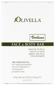 Olivella Face & Body Bar Soap 150gr - Verbena (Lemon)