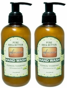 Out of Africa Liquid Hand Wash 8oz - Lemon Verbena (Pack of 2)