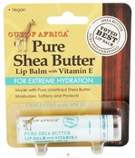 Out of Africa Unscented Shea Butter Lip Balm (Blister) .25 oz