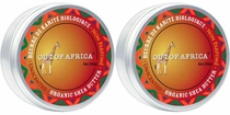 Out of Africa Shea Butter Tin 2oz - Unscented (Pack of 2)