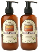 Out of Africa Liquid Hand Wash 8oz - Vanilla (Pack of 2)