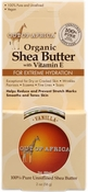 Out of Africa Vanilla Shea Butter Tin 2 oz