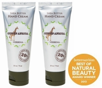Out of Africa Hand Cream 2.5oz - Verbena (Pack of 2)