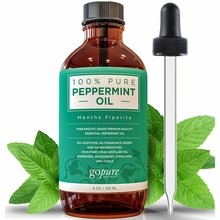 Peppermint Oil - Large 4 oz - 100% Pure Peppermint Essential Oil