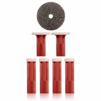 PMD Red Replacement Disc 6 pack