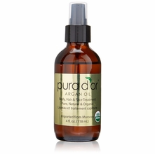 Pura D'or Organic Argan Oil 4 oz