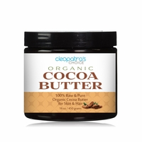 Raw Organic Cocoa Butter - 100% Pure 1 Pound / 16 oz