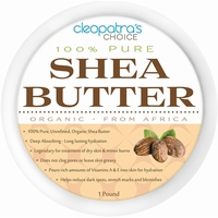 Raw Organic Shea Butter 1 Pound - Unrefined - Ivory - Grade A Highest Quality