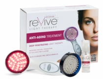 kathy ireland by reVive� Beauty Combo Anti Aging System w/Acne Light Head & Peptide