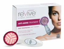 Anti Wrinkle Light Therapy Facial Tool - Clinical Strength - by Kathy Ireland Revive
