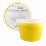 Shea Butter 100% Organic from Africa - Yellow Color Grade A - 1 Pound