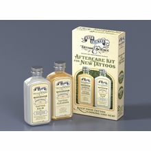 Tatjacket Aftercare Kit for New Tattoos - Two 2 oz Bottles