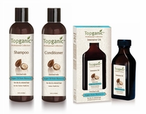 Topganic Argan Oil Hair Care Trio