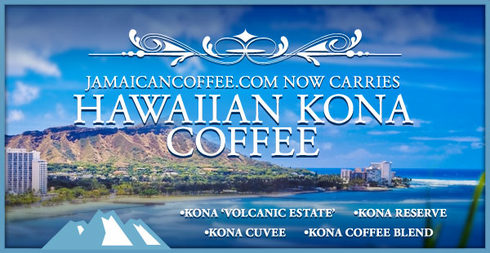 Kona Coffees at JamaicanCoffee.com