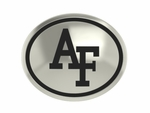 Air Force Falcon Silver Round Laser Bead