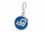Angelo State Rams Enamel Lobster Claw Charm