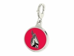 Ball State Cardinals Enamel Lobster Claw Charm