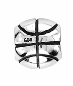 Beadles Silver Basketball Bead