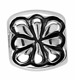 Beadles Silver Flower Spacer Bead