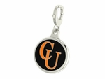 Campbell Fighting Camels Enamel Lobster Claw Charm