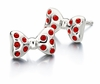 Chamilia Disney Minnie Mouse Bowtique Earrings