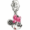 Chamilia Disney Minnie Mouse Smile Dangle Bead