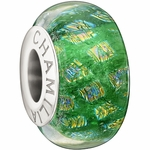 Chamilia Green Opulence Collection Glass Bead