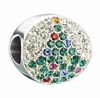 Chamilia Limited Edition 2014 Crystal Noel Christmas Tree Bead