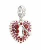 Chamilia Limited Edition Crystal Love Lock Charm Bead