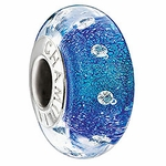 Chamilia Ocean Sparkles Radiance Collection Glass Bead