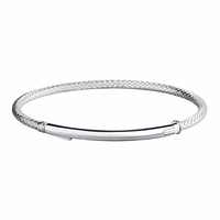 Chamilia Silver Connections Bright Bar Bracelet