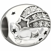 Chamilia Silver Crystal Reach for the Stars Bead