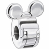 Chamilia Silver Disney Minnie Mouse Lock Bead
