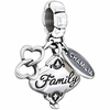 Chamilia Silver Her Gift of Family Dangle Bead