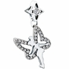 Chamilia Sparkling Swarovski Tinkerbell Dangle Bead