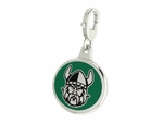Cleveland State Vikings Enamel Lobster Claw Charm
