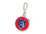 Columbus State Cougars Enamel Lobster Claw Charm