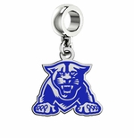 Georgia State University Panthers Color Logo Dangle Bead