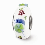 Hand Painted Glass Essie the Escargot Bead