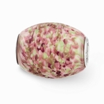 Hand Painted Glass Large Sweet Pea Bead