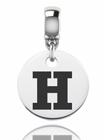 Hartford Hawks Silver Round Dangle Bead