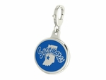 Indiana State Sycamores Enamel Lobster Claw Charm