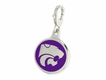 Kansas State Wildcats Enamel Lobster Claw Charm