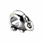 Kera Silver Rabbit Bead
