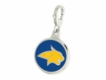 Montana State Bobcats Enamel Lobster Claw Charm
