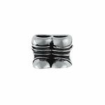 Moress Silver Boots Bead