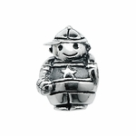 Moress Silver Boy with Ball Bead
