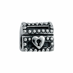 Moress Silver Chest Bead