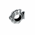 Moress Silver Fish Spacer Bead
