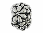 Moress Silver Floral Bead